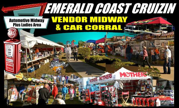 Emerald Coast Cruizin': Classic Car Show Vendors